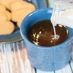 homemade coffee creamer with vanilla