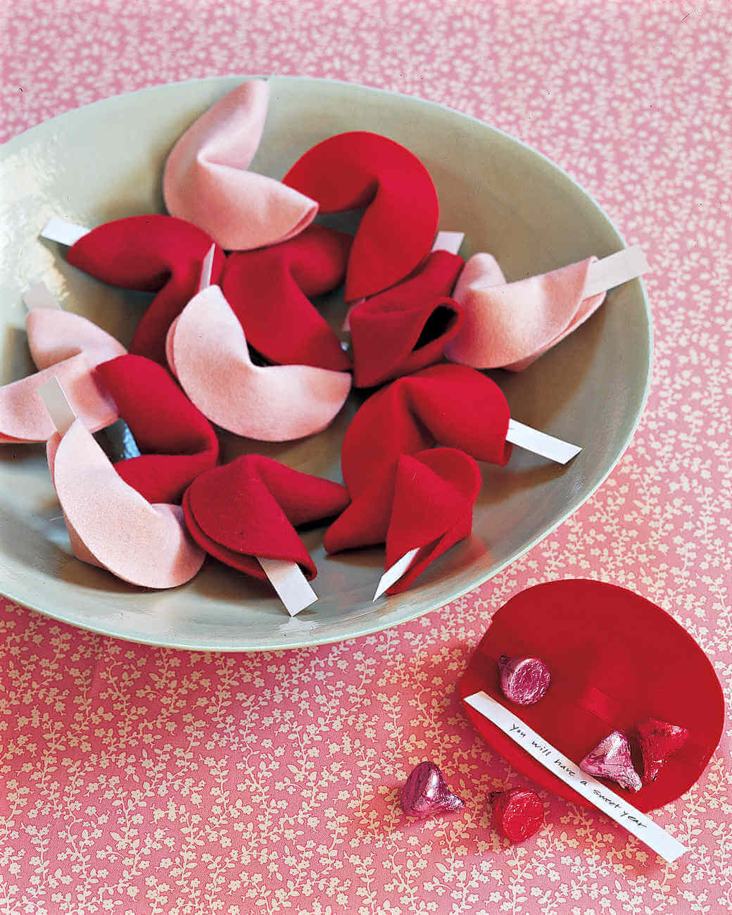 felt and fabric valentines projects