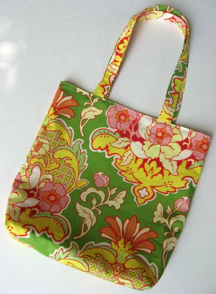 easy sewing tote