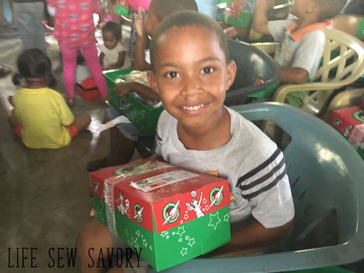 Samaritans Purse Operation Christmas Child shoeboxes