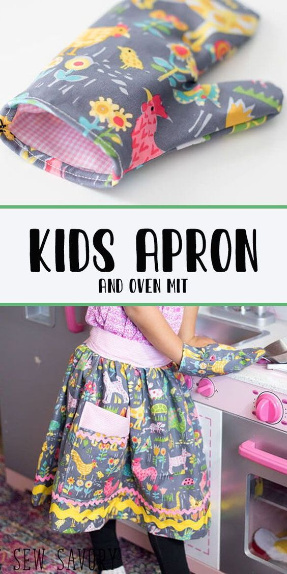 I've got a cute kids oven mitt free pattern and tutorial for you today - this post is sponsored by Hobby Lobby, but all work and opinions are my own.
