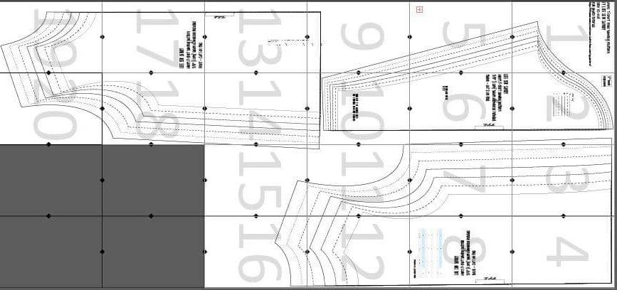t shirt sewing pattern layout guide