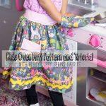 Kids Oven Mitt Free pattern & Tutorial – Hobby Lobby Spring Fabric