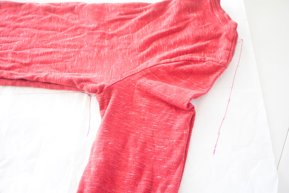 making your own sewing pattern from clothes