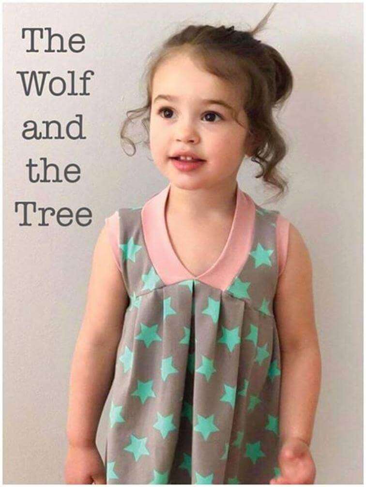 Free Sewing Patterns For Kids Spring/Summer 2018