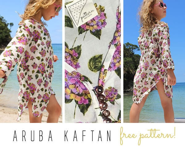 free suit cover up pattern for kids