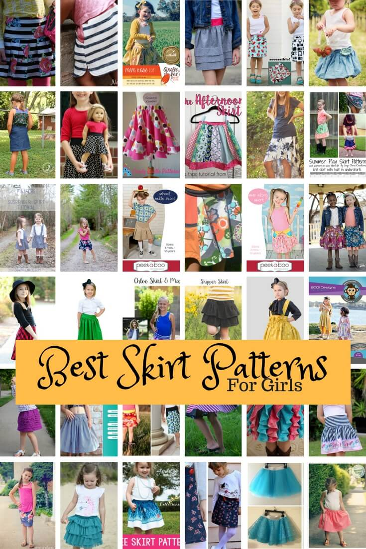 Best Skirt Patterns for Girls From Life Sew Savory