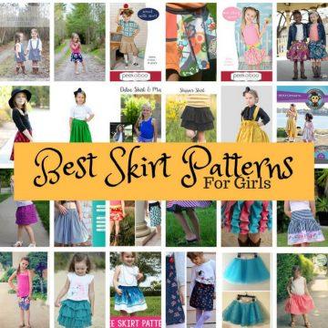 Best Skirt Patterns for kids