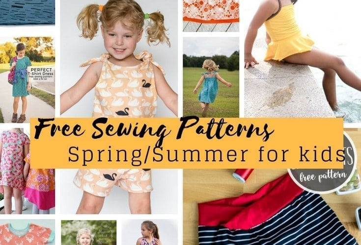 Free Sewing Patterns For Kids Springsummer 2018 Life Sew Savory