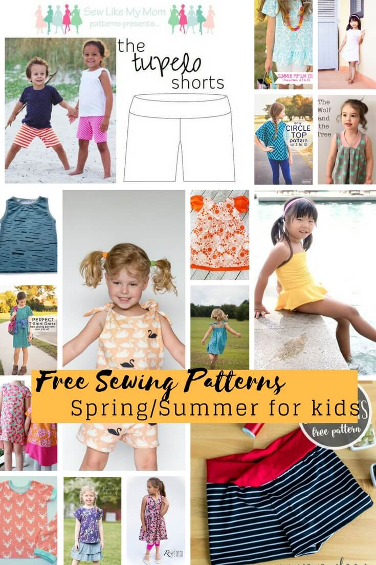 b4ac0a885 Free Sewing Patterns for Kids Spring Summer 2018 - Life Sew Savory