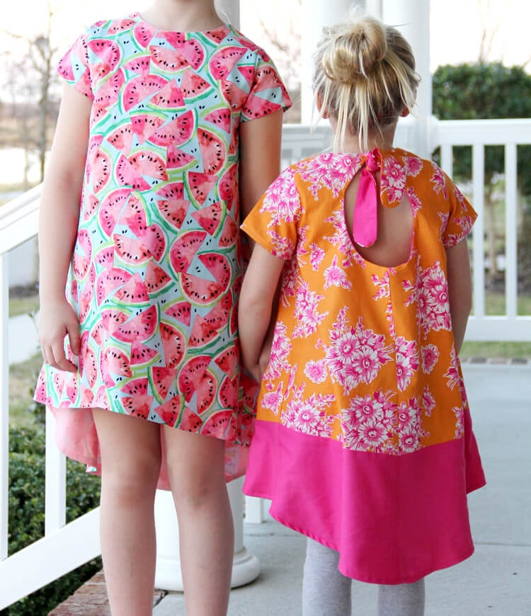 Free Sewing Patterns for Kids Spring/Summer 2018 - Life Sew Savory