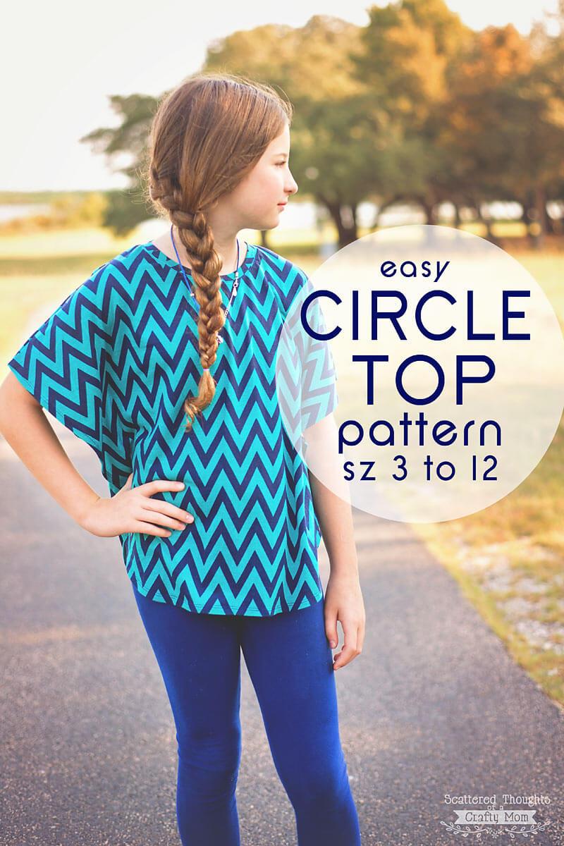 circle top free pattern