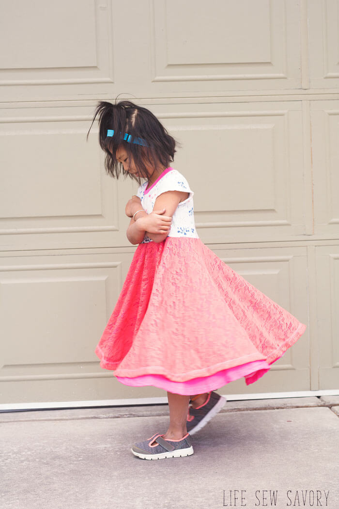 Girls Dress Sewing Pattern for Easter