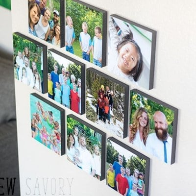 Easy Photo Wall Decor – Mixtiles review and installation