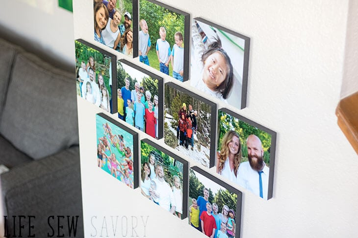 Easy Photo Wall Decor Mixtiles Review And Installation