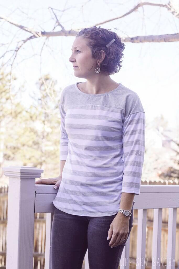 free sewing pattern womens spring tee