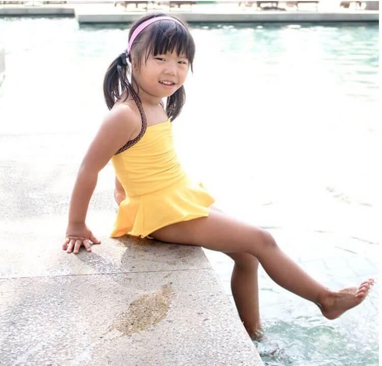 free toddlers swim suit pattern