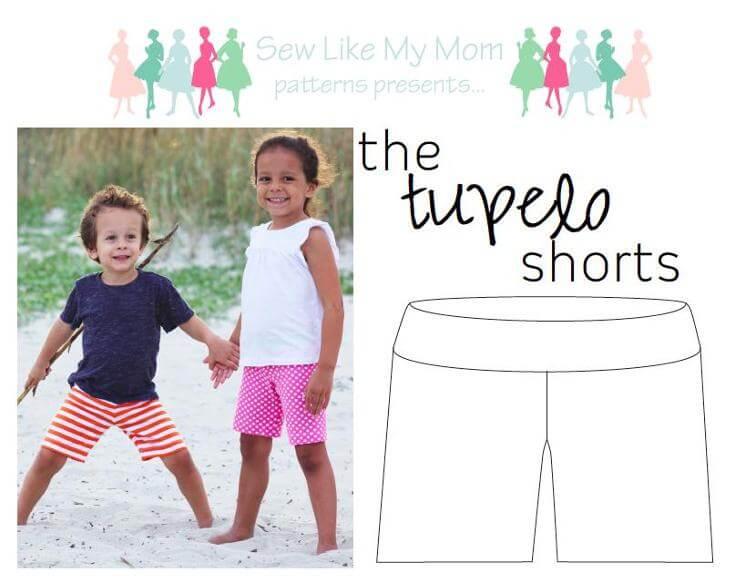 free shorts pattern for kids