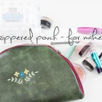 Zipper pouch tutorial social