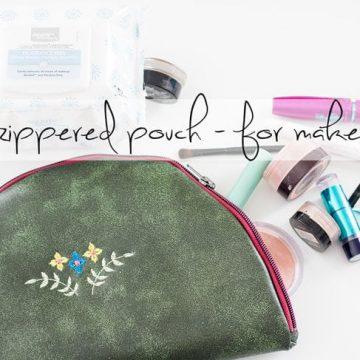 Zipper pouch tutorial social