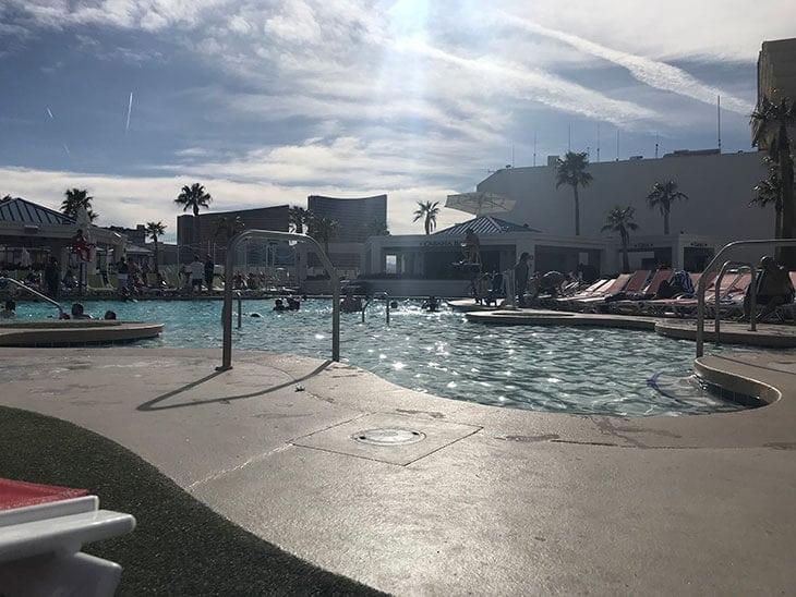 warm hotel pool