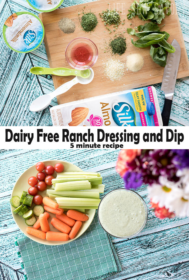 Dairy Free Ranch Dressing and Dip from-Life-Sew-Savory-#ProgressIsPerfection-#CBias-AD