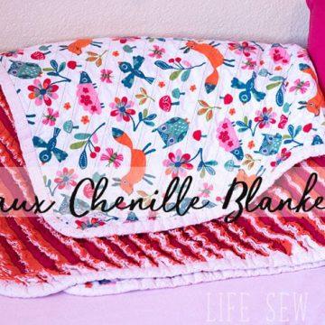 Blanket sewing tutorial