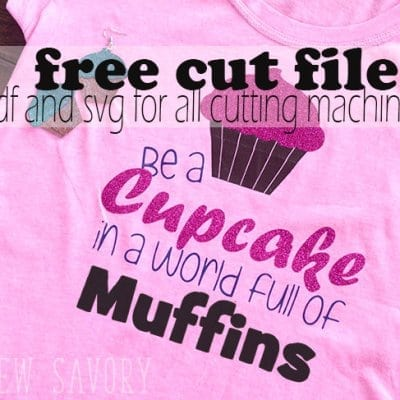 Free SVG cut files – Dessert Tshirts