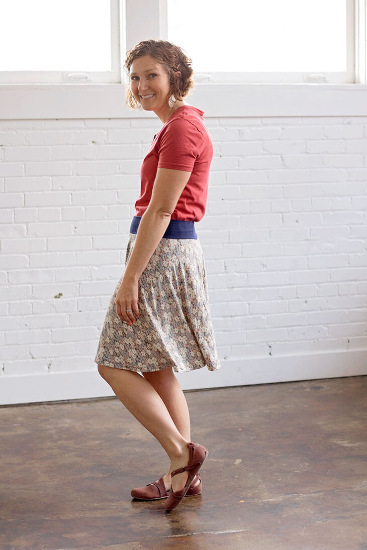 circle skirt sewing tutorial