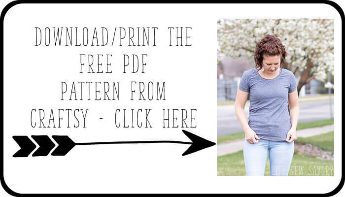 T Shirt Sewing Pattern Free And A Fresh Look For Summer Life Sew