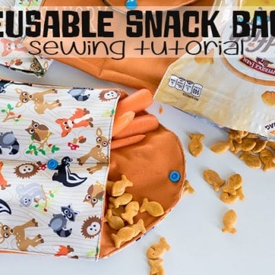 Reusable Snack Bags – On the go snacking