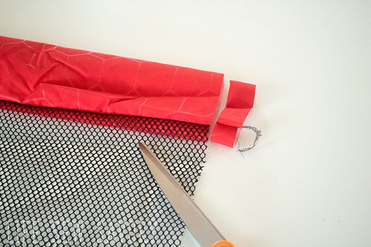 sewing tutorial for shell bag