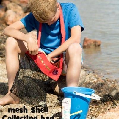 Seashell bag sewing tutorial