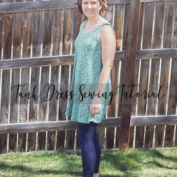 tank dress sewing tutorial