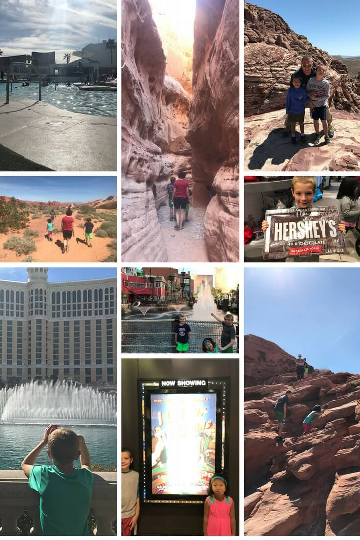 Things to do in Las Vegas with Kids - free or mostly free from Life Sew Savory
