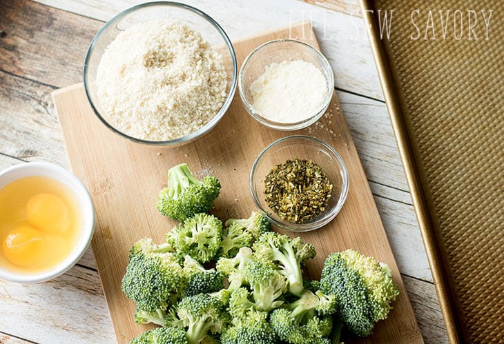 broccoli with panko