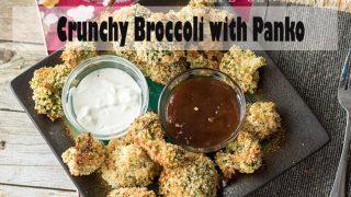 Baked Panko Broccoli
