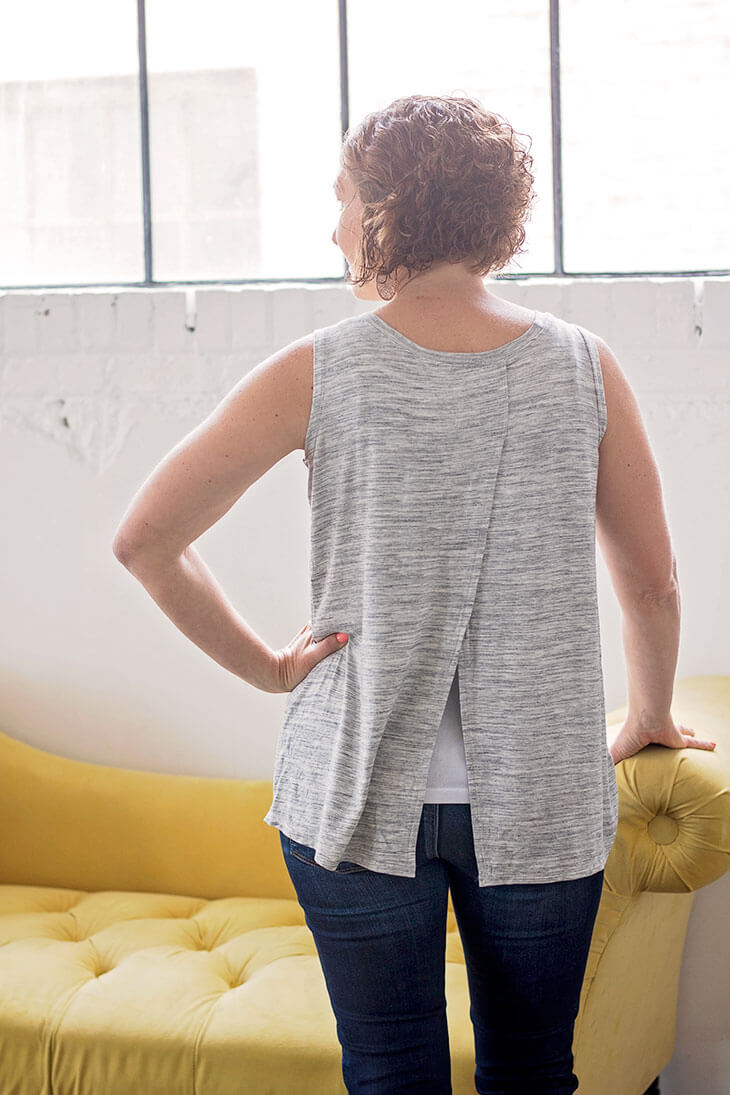 Tank top Sewing Pattern free pdf pattern for women