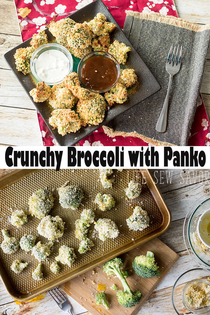 crunchy broccoli with panko