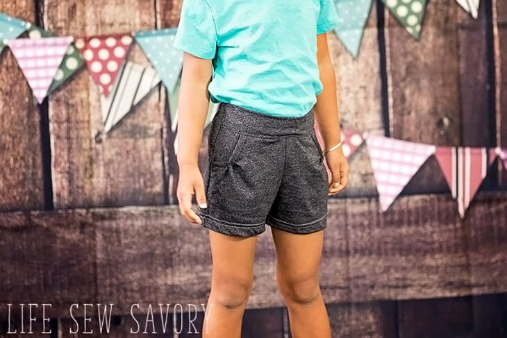 free shorts pattern for girls