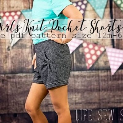 Free Shorts Sewing Pattern – for Girls