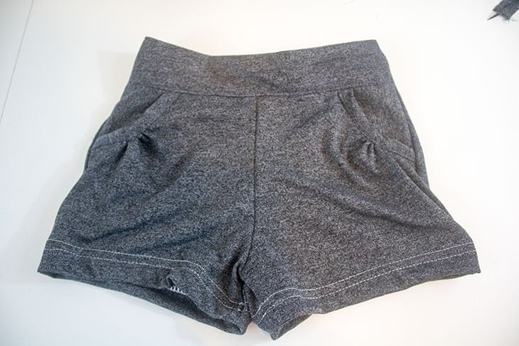 knit shorts for girls sewing tutorial