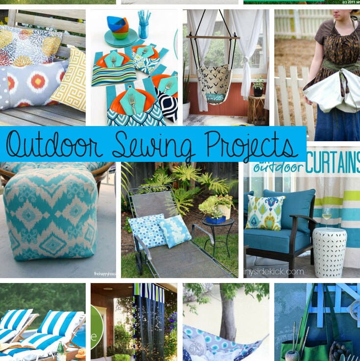 outdoor sewing projects social