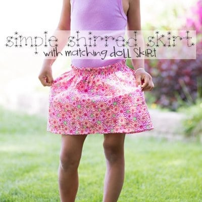Sewing with Elastic Thread – Shirred Skirt Tutorial