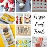 Frozen Fruit Summer Treats for kids from Life Sew Savory
