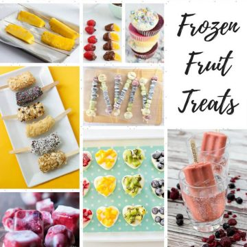 Frozen Summer Treats with Fruit