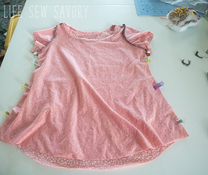 Free Sewing Patterns for Girls - Swing Tee - Life Sew Savory