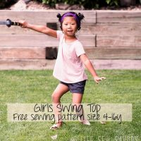 girls swing top promo