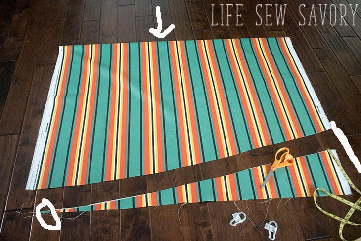 DIY Hanging Chair Sewing Tutorial