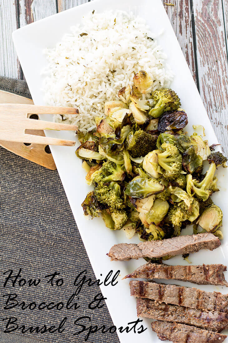 how to grill broccoli and brussel sprouts